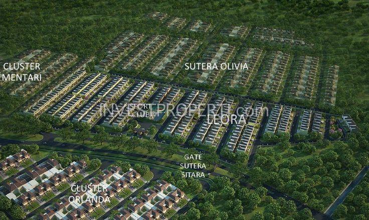 Site Plan Cluster Leora Sitara Alam Sutera. #leoraalamsutera
