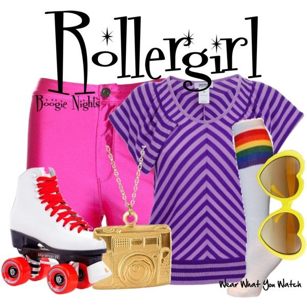 Inspired by Heather Graham as Rollergirl in 1997's Boogie Nights