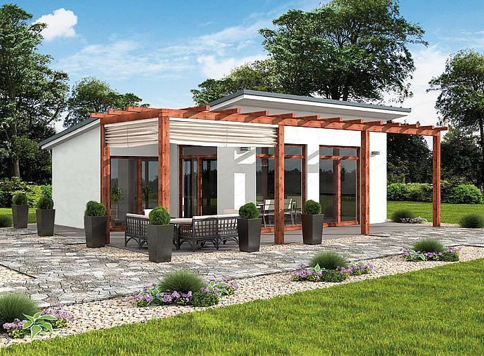 Projekt domu Grenada dom letniskowy
