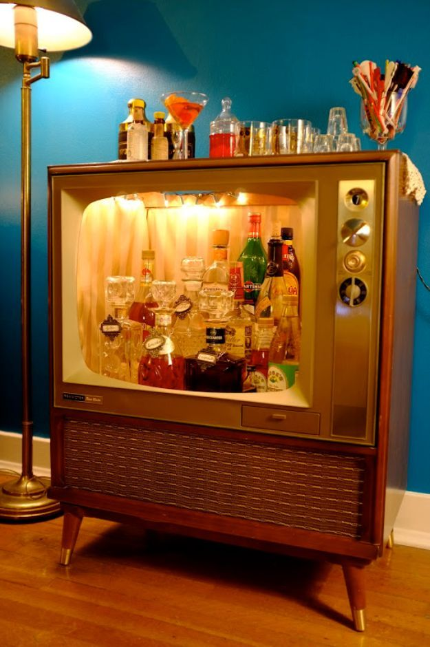 25 best ideas about home bar furniture on pinterest for Do it yourself home bar designs