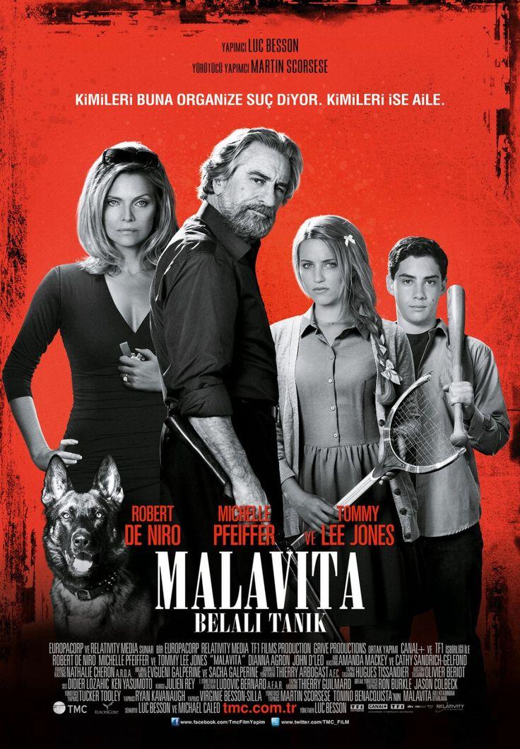 Malavita: Belali Tanik - The Family - 2013 - BDRip Film Afis Movie Poster