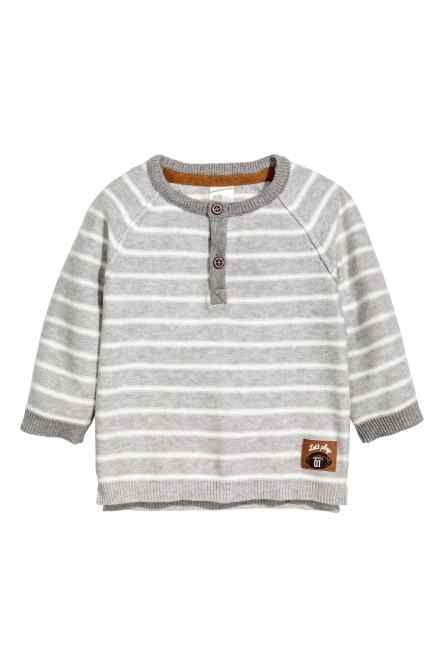 Fine-knit cotton top