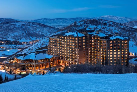 A peaceful evening at The St. Regis Deer Valley