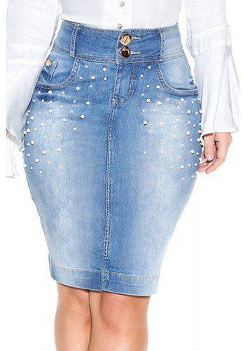 db64e9abac saia jeans tradicional lavagem perolas titanium detalhes1 frente ...