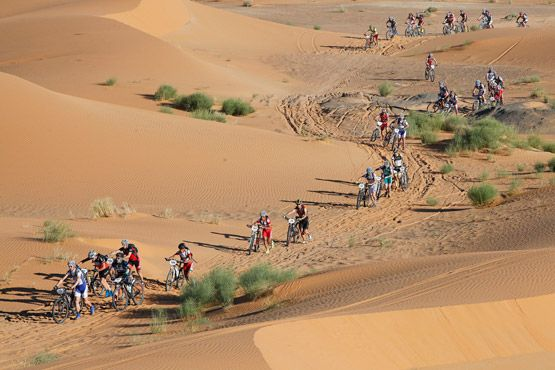 TITAN DESERT RACE - STAGE 1 | 6-Day Titan Desert race in Morocco - Stage 1.