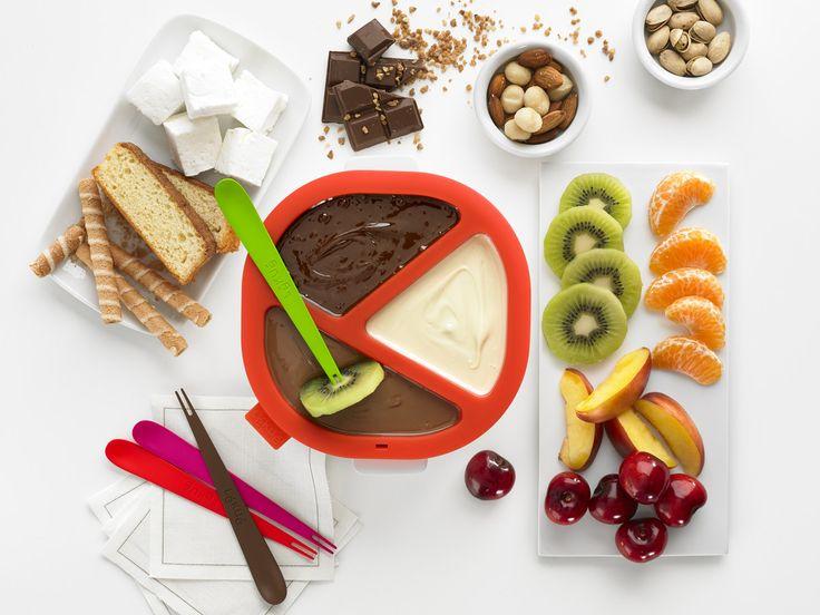 Chokladfondue set: ChocoFondue! För mikrovågsugnen.