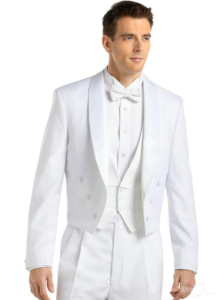 White Suits for Men 2014 - Light Tuxedo for Boys 2015