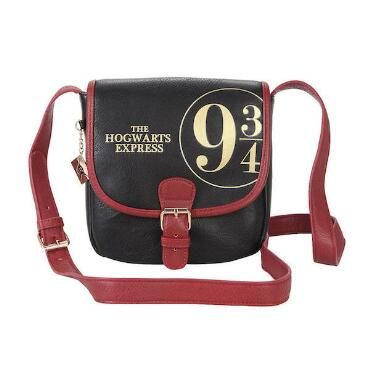 If you are a Harry Potter fan, this is the take everywhere crossbody bag. Now, you can take the Wizarding World every where you go. It's compact but surprisingly roomy. This is the cool girl on Hogwarts campus go to pick.