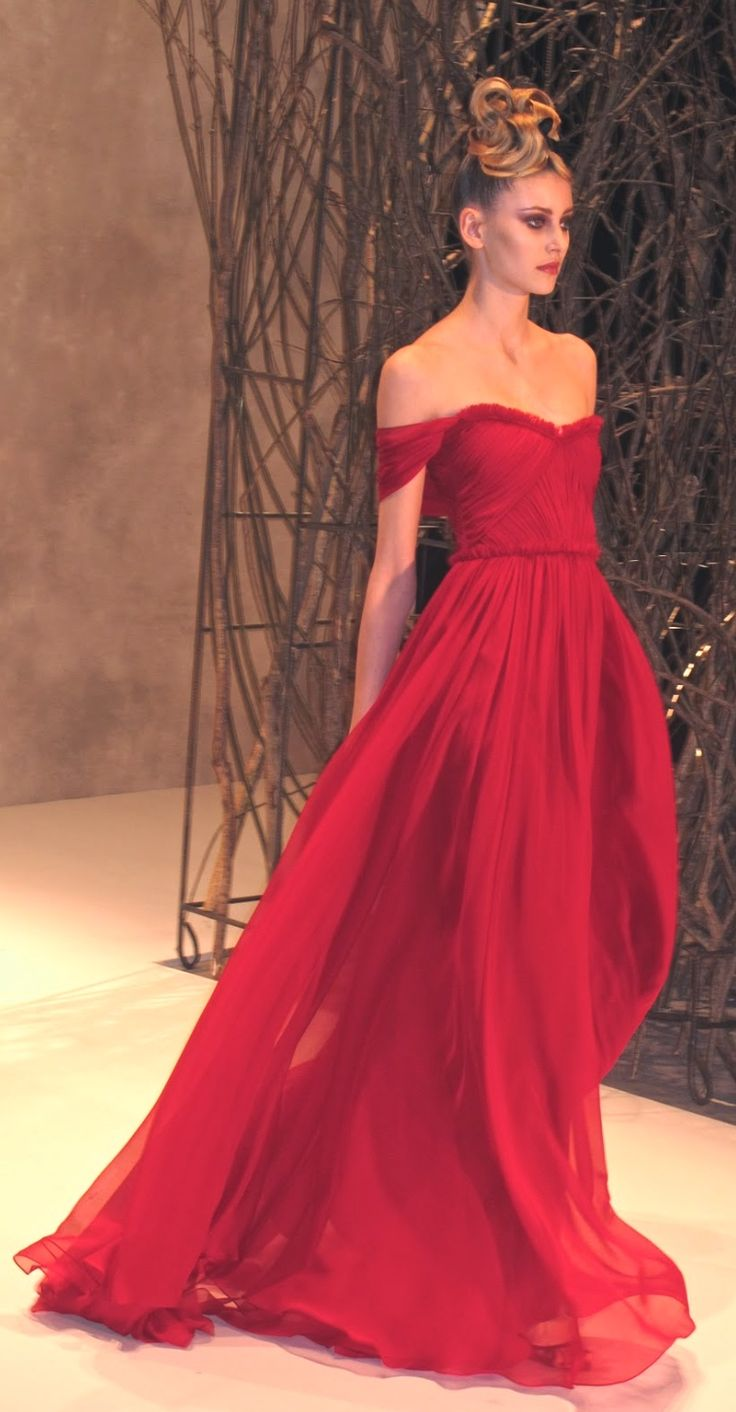 Long red dress for wedding  Caroli Harper caroliharper on Pinterest