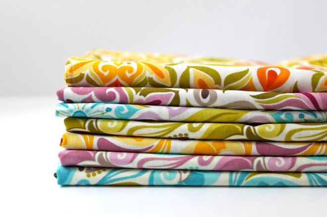 How smart! To make cloth napkins instead of buying them! They cost so much but seem pretty simple to make! :)