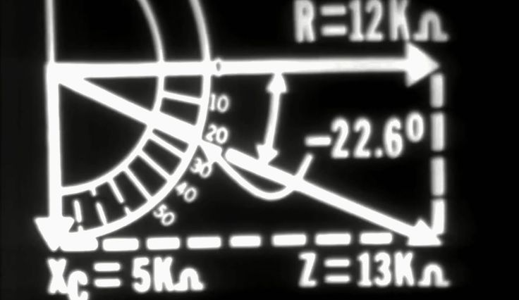 Electronics: Series RC Circuits 1972 US Air Force Training Film https://www.youtube.com/watch?v=Qlho9IdreCM #electronics #circuits #training