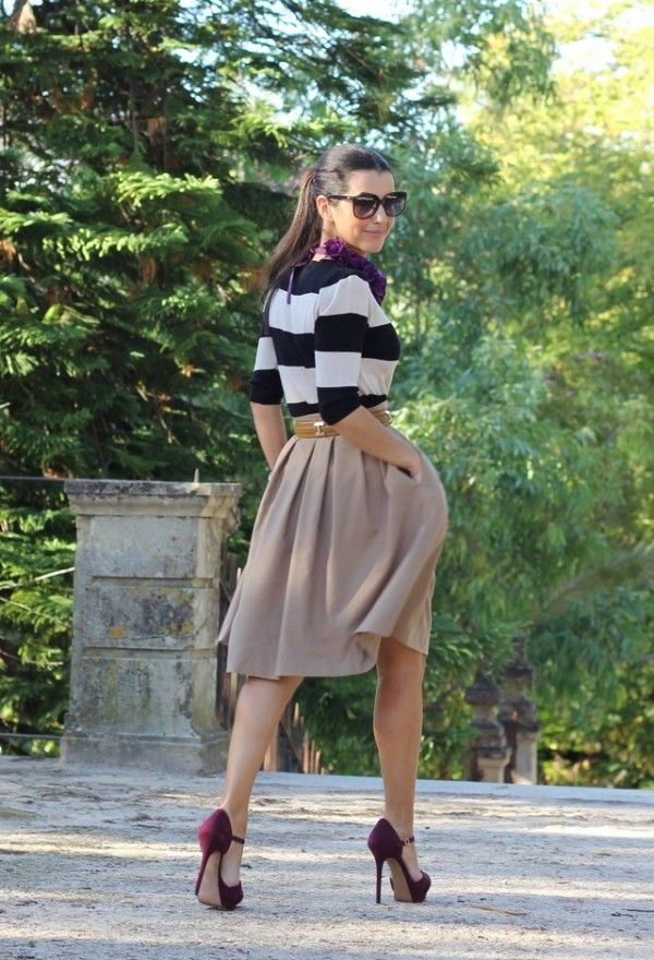 20 Street Style Inspiration // ooth // classic // stripes // cute // pretty // outfit ideas