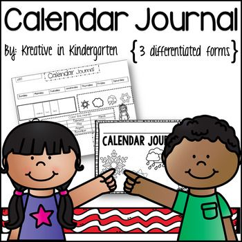 Use this journal daily/weekly with your current calendar time. Includes a cover and journal page (color (boy/girl) and black and white (boy/girl) option). This includes a beginning (easier), middle (a little harder), and end of year (more advanced) journal.