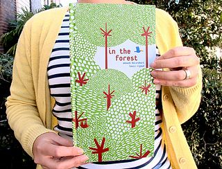 In the forest - A pop-up book (cover) by thedailysmudge, via Flickr