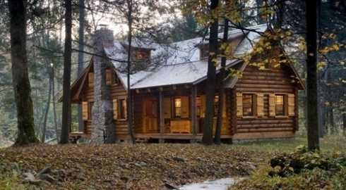 Standout Log Cabin Homes . . .