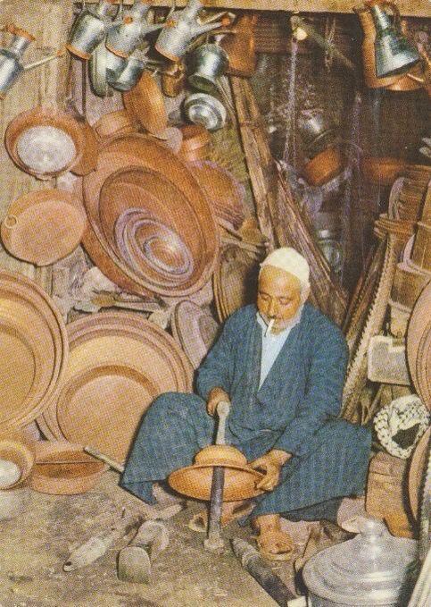 سوق الصفافير شارع الرشيد بغداد  والله يرحم أيام زمان