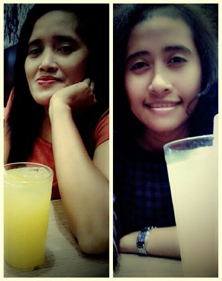 Me and Mom .. @ ichiban sushi d'mall