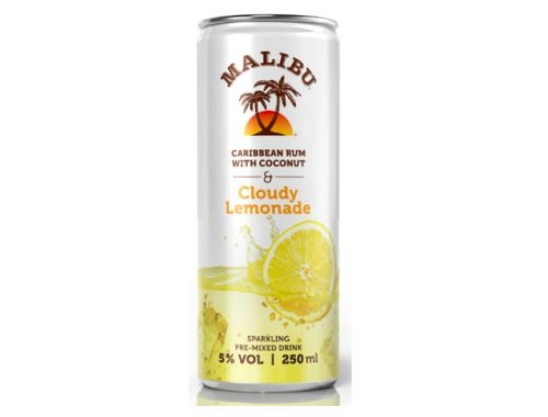 Malibu and Cloudy Lemonade | Alcoholic Drink