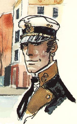 hugo pratt corto maltese watercolor