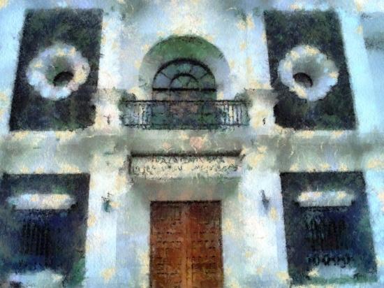 Wallpaper del Aula Magna UANL