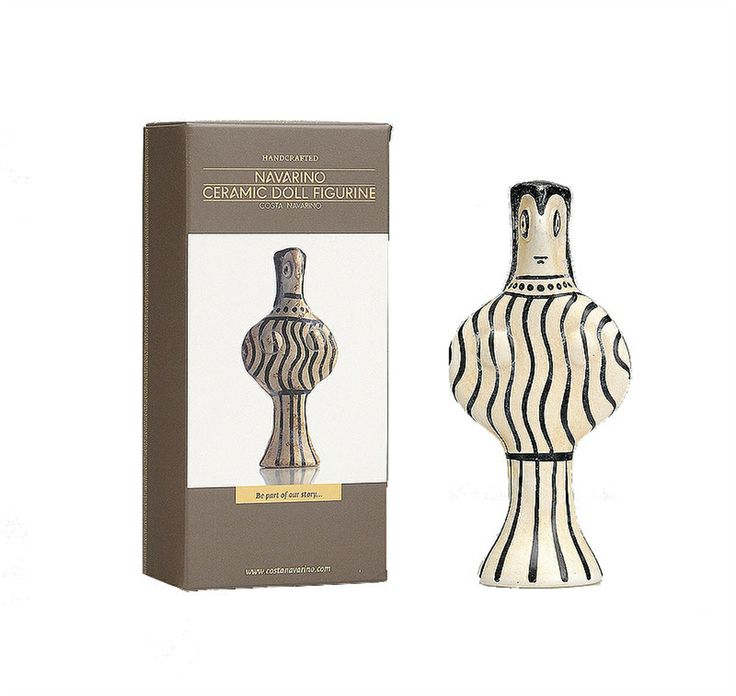 The creation of the Navarino Ceramic Doll Figurine has been influenced by similar objects excavated in several sites in the Peloponnese