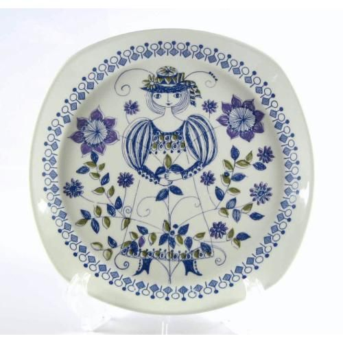Lotte dinner plate/Figgjo(Norway)  Design Turi Gramstad-Oliver
