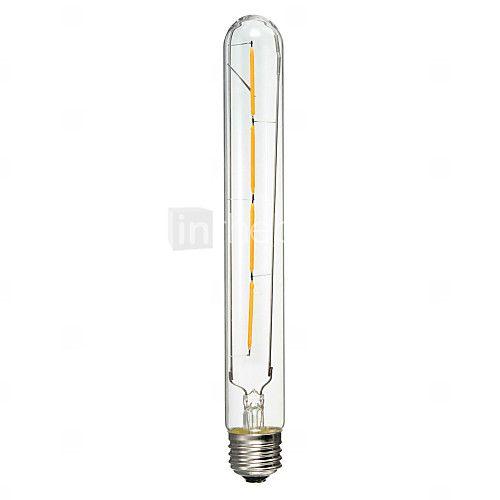 1 stuks E26/E27 4 W 4 COB 400 LM Geel LED-gloeilampen AC 220-240 V - USD $15.99