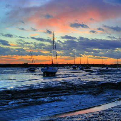 #LeighonSea #essex sunset