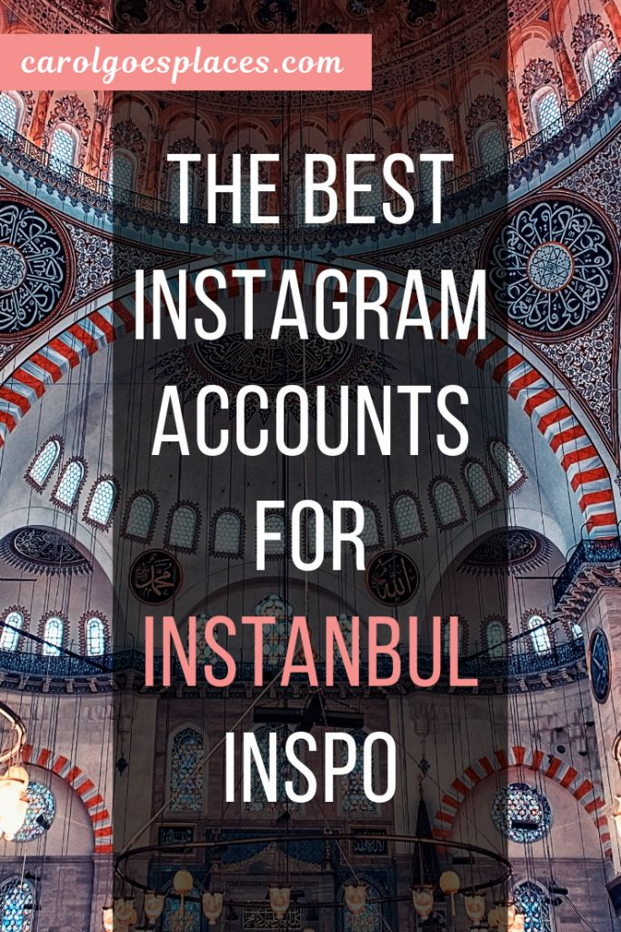 Istanbul Instagram Accounts for Travel Inspiration…