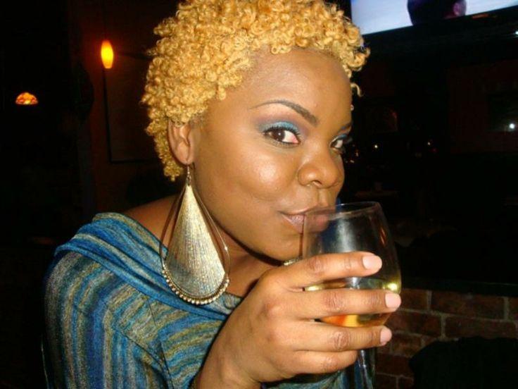 Honey Blonde Short Natural Hair 4b Texture T