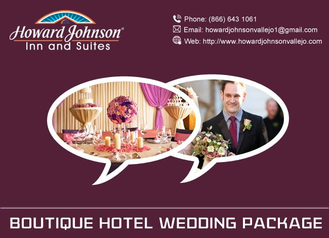 Howard Johnson offered Boutique hotel package for wedding, it is a dream venue for your wedding. https://goo.gl/gAUajv