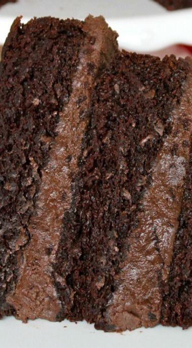 The Greatest Chocolate Cake Recipe