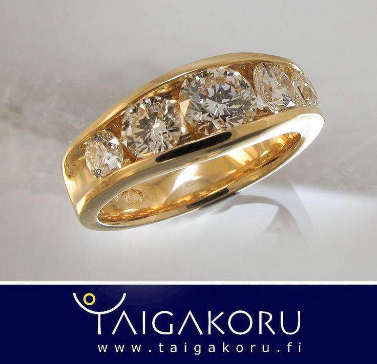 Timanttisormus. Diamond ring