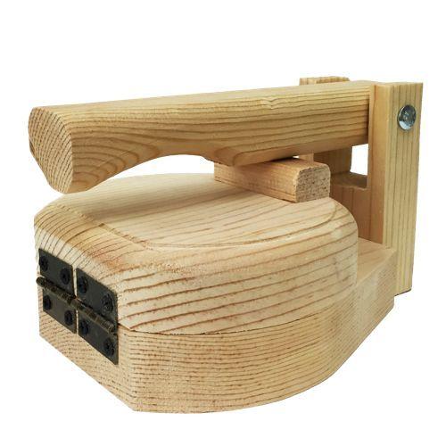 Round Wood Tortilla Press to Make Sopes 5