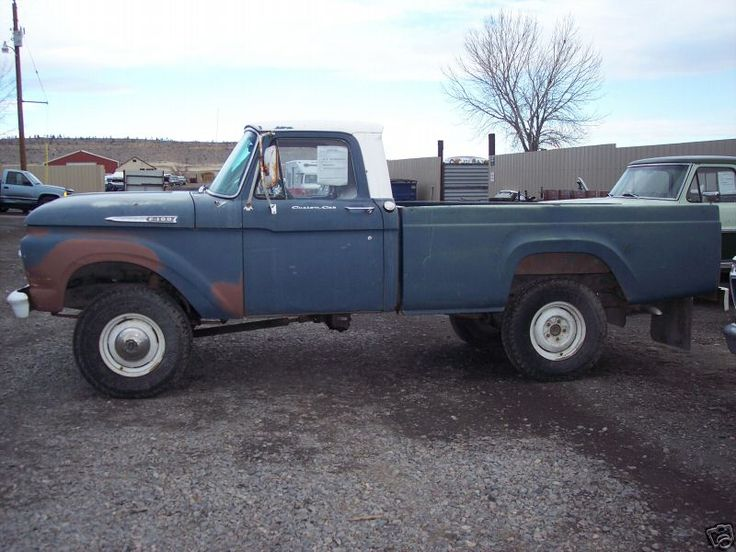 Lifted Ford F250 >> Antique Ford Trucks | 1962 Ford F-100 4x4 Pickup | For ...
