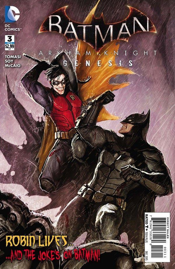 Batman: Arkham Knight Genesis (2015) Issue #3