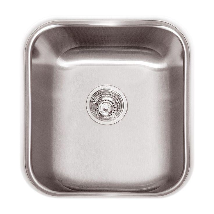 Simple Bunnings Sink Undermount Hawksbury Abey Sgl Bowl Qu