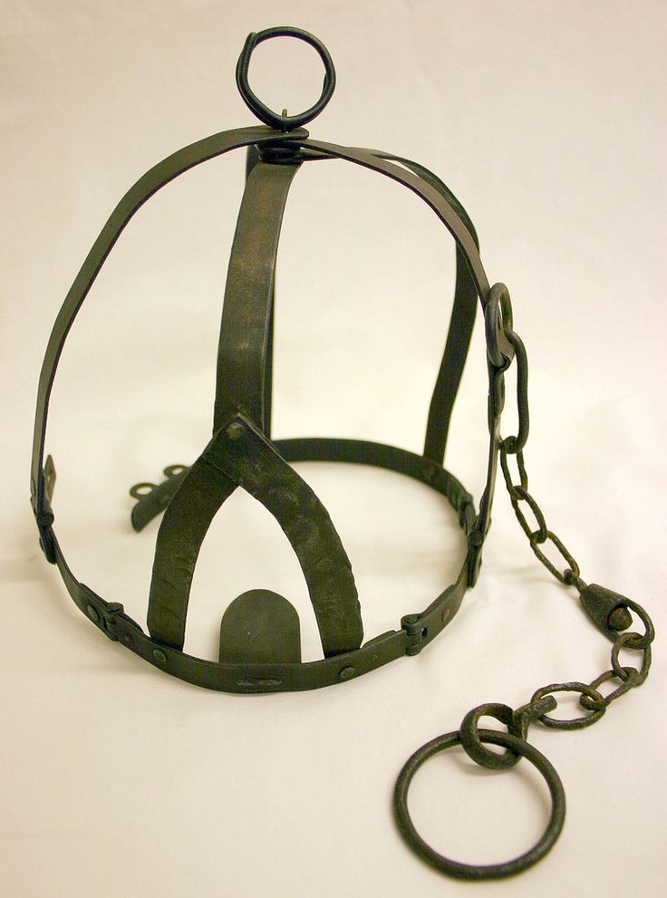 https://flic.kr/p/7FqXC8 | A brank's or scold's bridle, 1976.0680 | A branks, or scold's bridle, used to punish women who caused a public nuisance.  For more information please go to blackcountryhistory.org/collections/getrecord/WASMG_WASMG...
