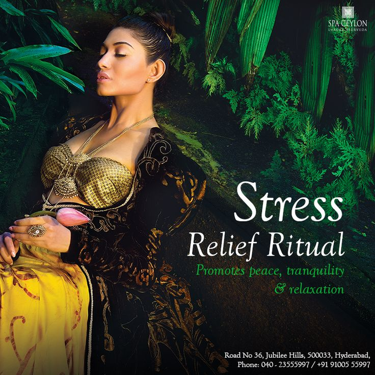 Calm yourself from the #stress-induced routine and bask in the peace and quiet with Spa Ceylon's #Stress #relief #ritual. Curbing on stress that's induced by #every #day #work, massage of #head and #neck – parts that are directly affected by stress – soothes the perturbed soul and senses and engage you in tranquility.  #Spaceylon #Hyderabad #Ayurveda #SpaCeylonHyderabad #spa #beauty #BeautyProducts #Relax #natural