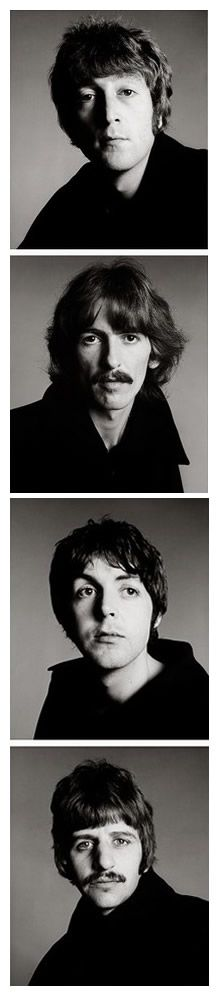 The Beatles by Richard Avedon  belljarsf.com :: gorgeous little things
