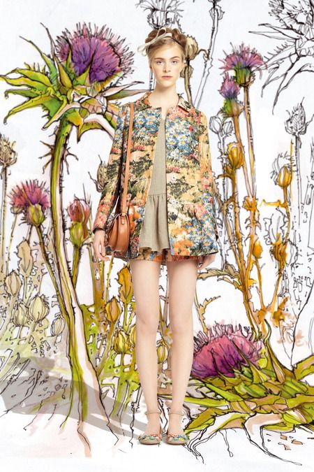Red Valentino | Spring 2014 Ready-to-Wear Collection | Style.com How pretty is…
