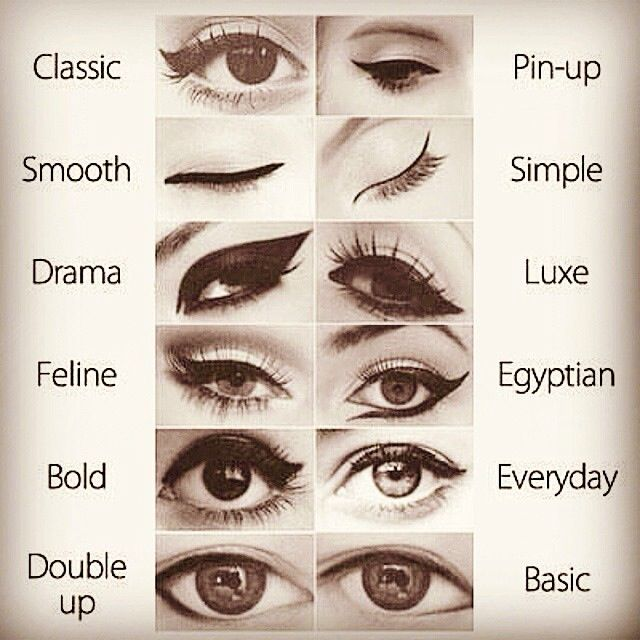 Eye-lining Styles