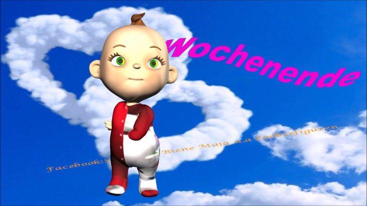 Juchuuu es ist WochenendeSamstag,SonntagFreude, Baby, Animation