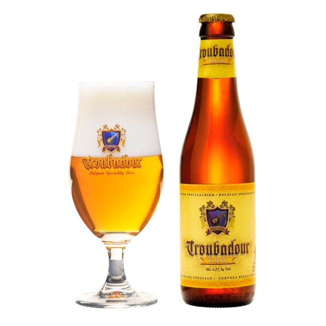 Troubadour Blond 33cl, The Musketeers Brewery