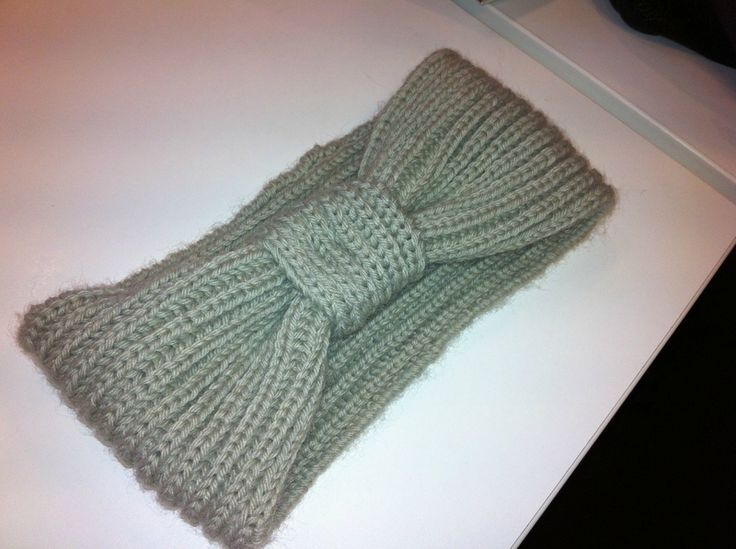 bandeau-tricot tuto