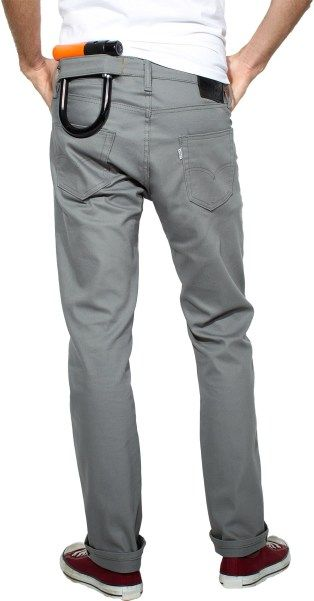 Levi's twill commuter bike pant - this is Twill done for men, the right way.