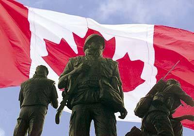 The National Peacekeeping Memorial in Ottawa