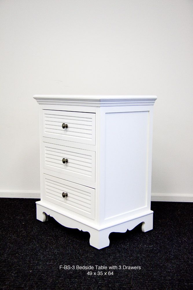Right Buy - LivingGood Bedside Table with 3 Drawers, $279.00 (http://www.rightbuy.com.au/livinggood-bedside-table-with-3-drawers/)
