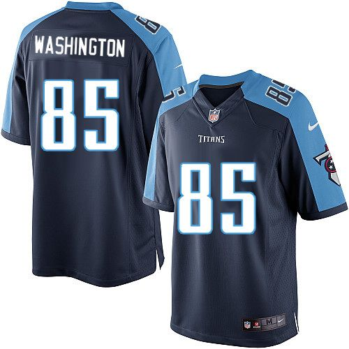 Men Nike Tennessee Titans #85 Nate Washington Limited Navy Blue Alternate NFL Jersey Sale