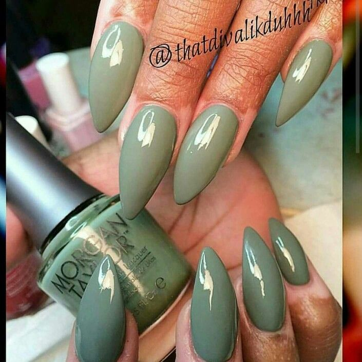How To Make Olive Green Nail Polish: 45 Best Olive Green Nails Images On Pinterest